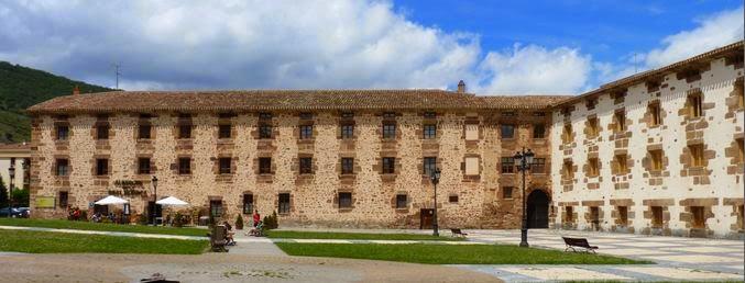 Ezcaray, Real Fábrica de Paños de Santa Bárbara.