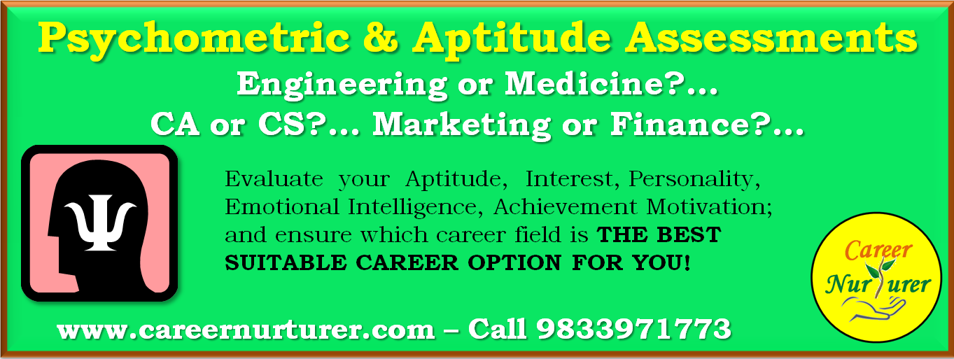 Career Counselling in Mumbai Thane and Navi Mumbai - Aptitude Tests for Career Guidance