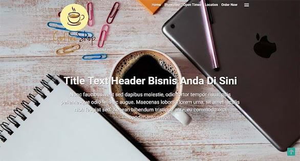 Premium Blogger Landing Page Template - Kompi Landing Page AMP