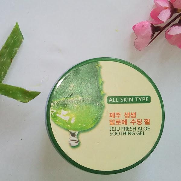 12 Kegunaan Produk Jeju Fresh Aloe Soothing Gel