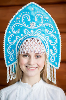 kokoshnik in russia