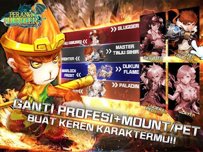 Game Perang Hunter - Dragon Warrior 3D