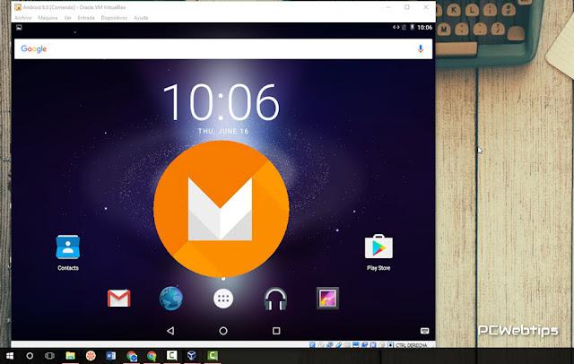 Android x86 - Version Marshmallow para PC