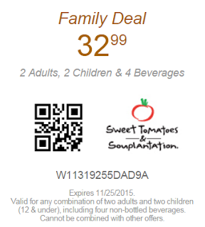 Souplantation Coupon Family Deal For $32.99