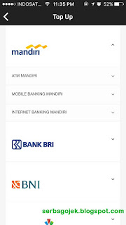 cara top up deposit gojek