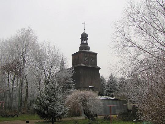 Kościół pw. Św. Jana Chrzciciela i Matki Bożej Szkaplerznej w Krzesławicach.