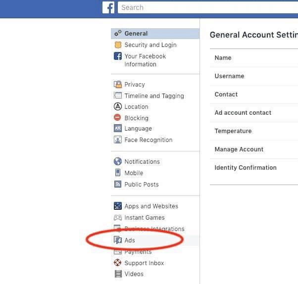 Mark Zuckerberg,فيسبوك,اعلانات فيسبوك