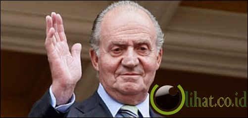 Raja Spanyol pernah tidur dengan 1.500 wanita
