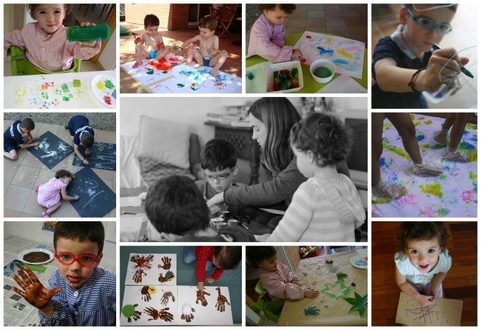 manualidades infantiles y sus beneficios