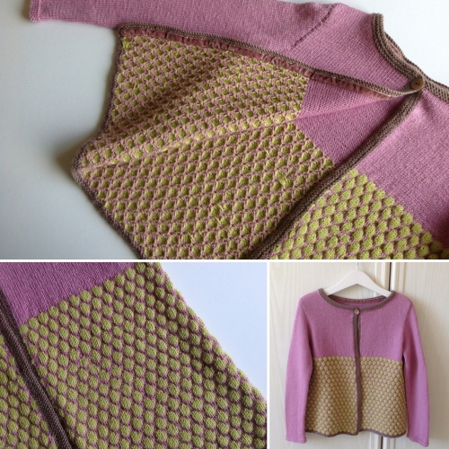 My Honey (Knitting Cardigan) - Free Pattern