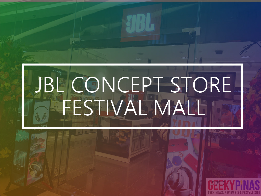 JBL Festival Mall Alabang Concept Store Front