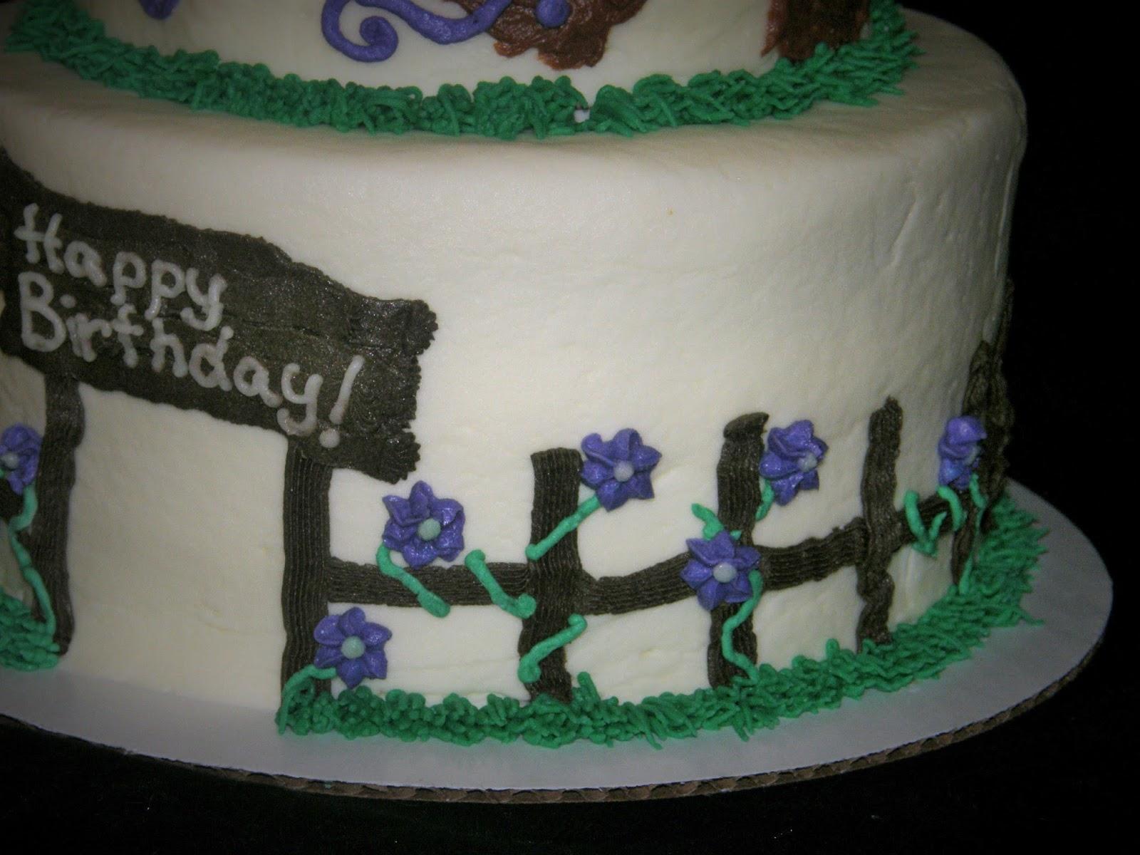 Terrific Mrs Lydias Kitchen Country Cowgirl Birthday Cake Personalised Birthday Cards Bromeletsinfo