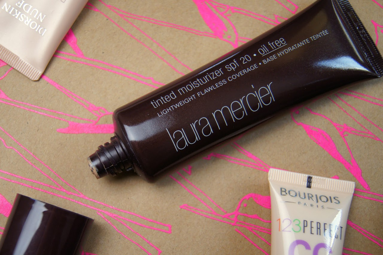 laura mercier oil free tinted moisturiser review
