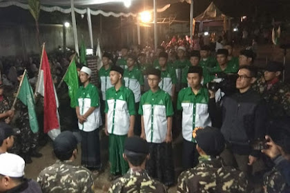 Pengurus PAC GP Ansor Parongpong Periode 2018-2020 Resmi Dilantik