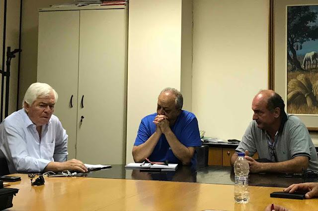 Συνάντηση με τον ΕΛΓΑ του Συνδέσμου Αγροτικών Συνεταιριστικών Οργανώσεων και Επιχειρήσεων Ελλάδος