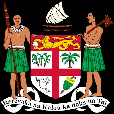 Coat of arms - Flags - Emblem - Logo Gambar Lambang, Simbol, Bendera Negara Fiji