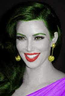 Kim Kardashian is The Joker