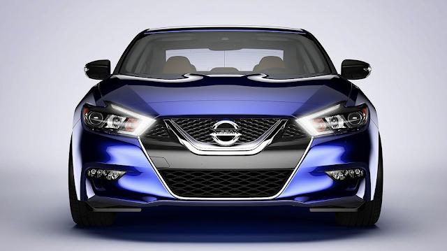 2015 Nissan Maxima blue