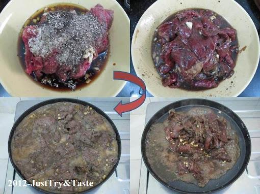 Resep Bulgogi - Semur Daging Sapi Ala Korea