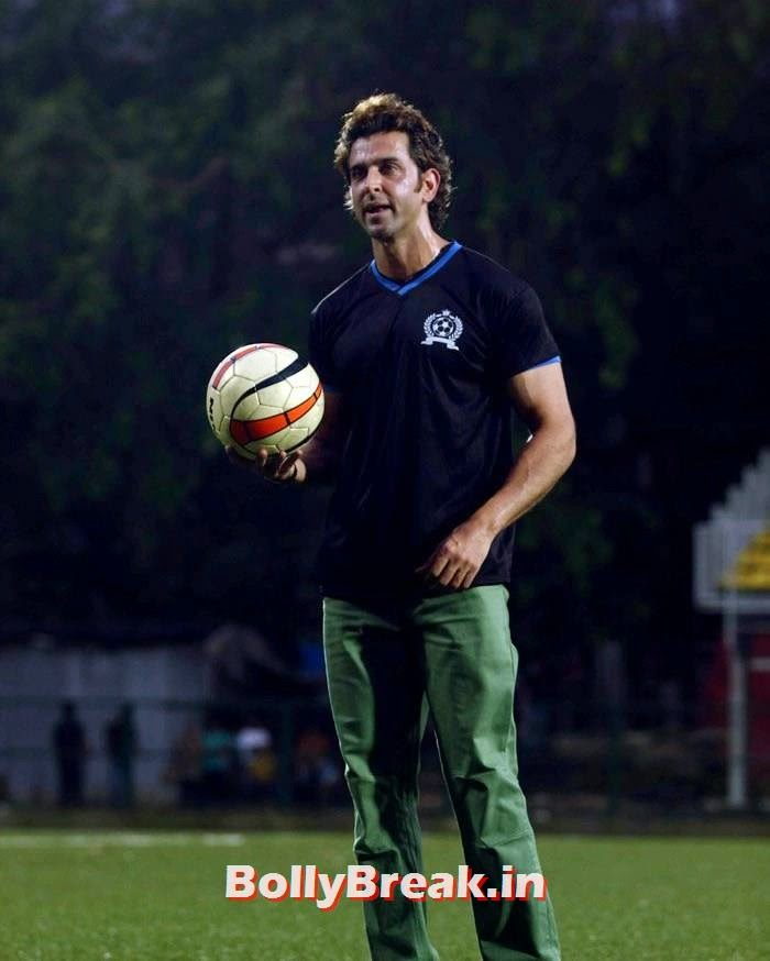 Hrithik Roshan, Bollywood Celebs play football match for Aamir khan's daughter Ira Khan