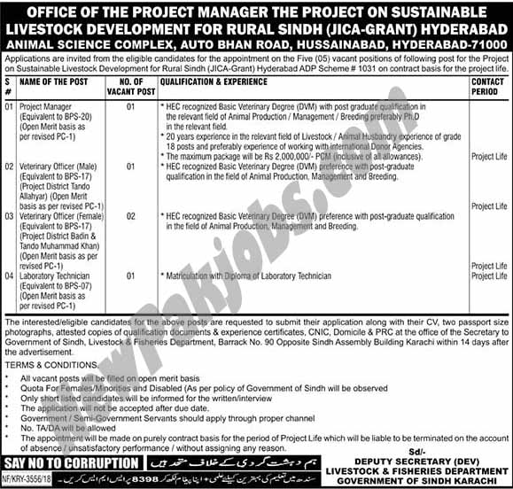 Live Stock Development Jobs in Hyderabad September 2018