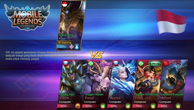 cara memilih hero terbaik di custom mode mobile legends