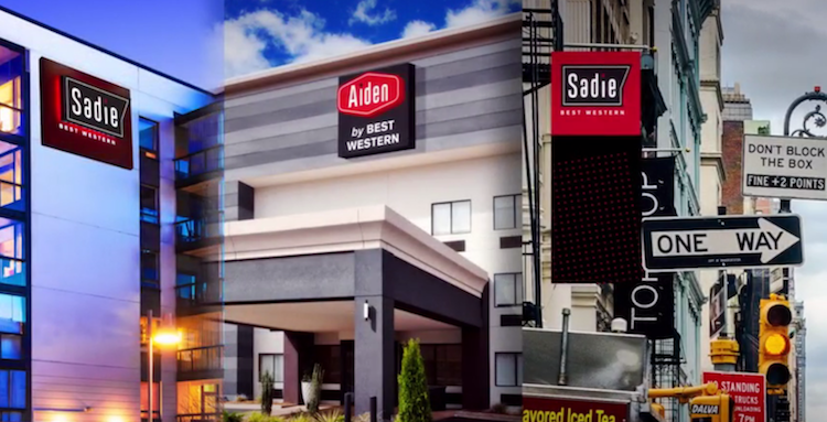 Best Western Hotels & Resorts marki Sadie Hotel  Aiden Hotel, Best Western Hotels & Resorts, Hotele,
