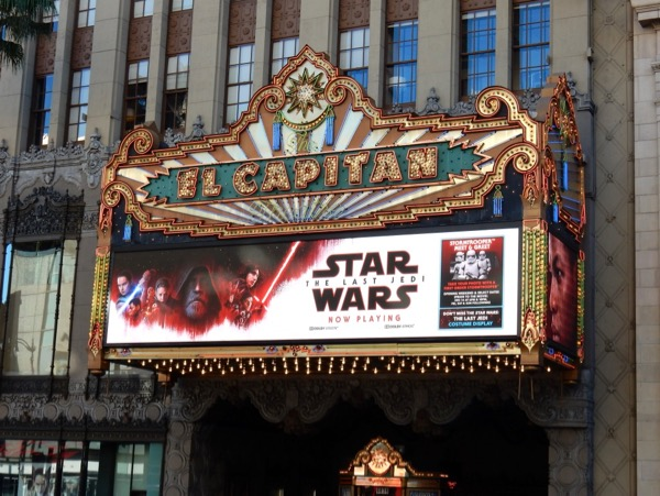 Star Wars Last Jedi El Capitan Theatre