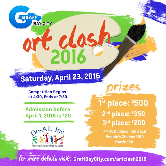ArtClash 2016 Will Be Hosted At Graff Bay City!