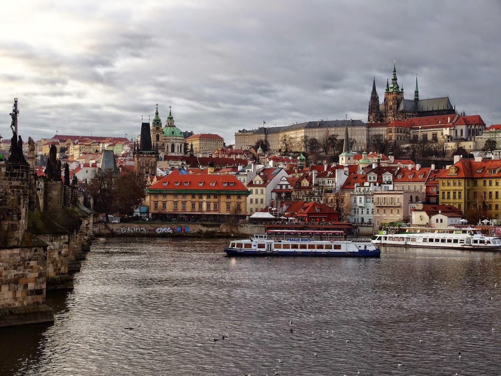 Прага , река Вълтава