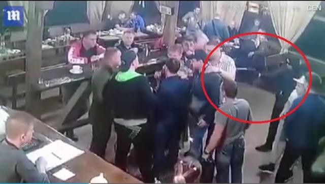 Καρέ καρέ η εν ψυχρώ δολοφονία αρχινονού της Ρώσικης μαφίας που μόλις είχε αποφυλακιστεί – (BINTEO)