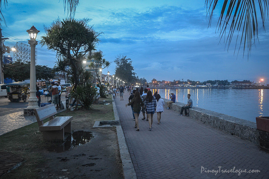 Rizal Boulevard at dusk
