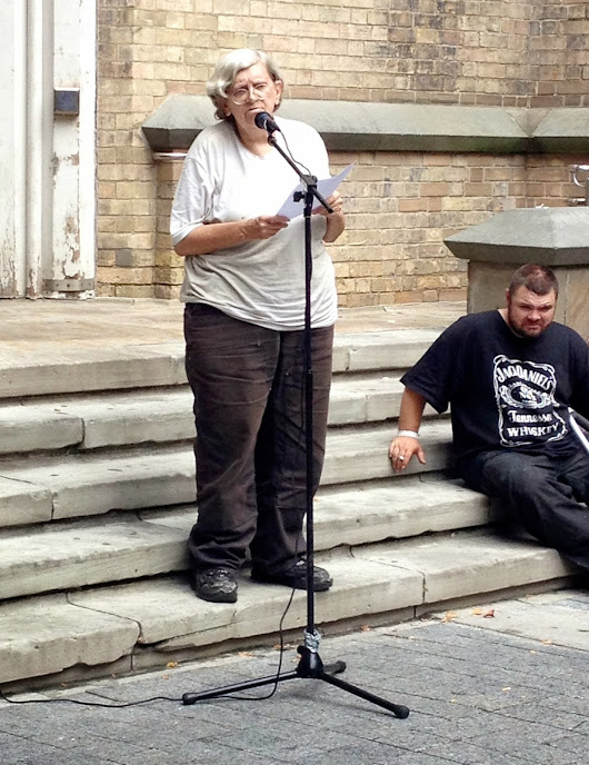 "'We Are You"" - a poem read at the Homeless Memorial by Bonnie Briggs"