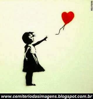 coração,balão,perdido