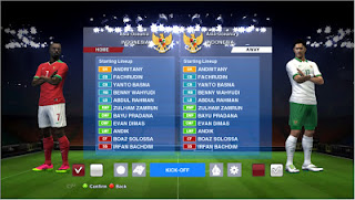 Pes 2013 Option File Update Timnas Indonesia September 2016 full transfer By Boris
