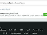 Cara Membuat Aplikasi Pengembang Facebook