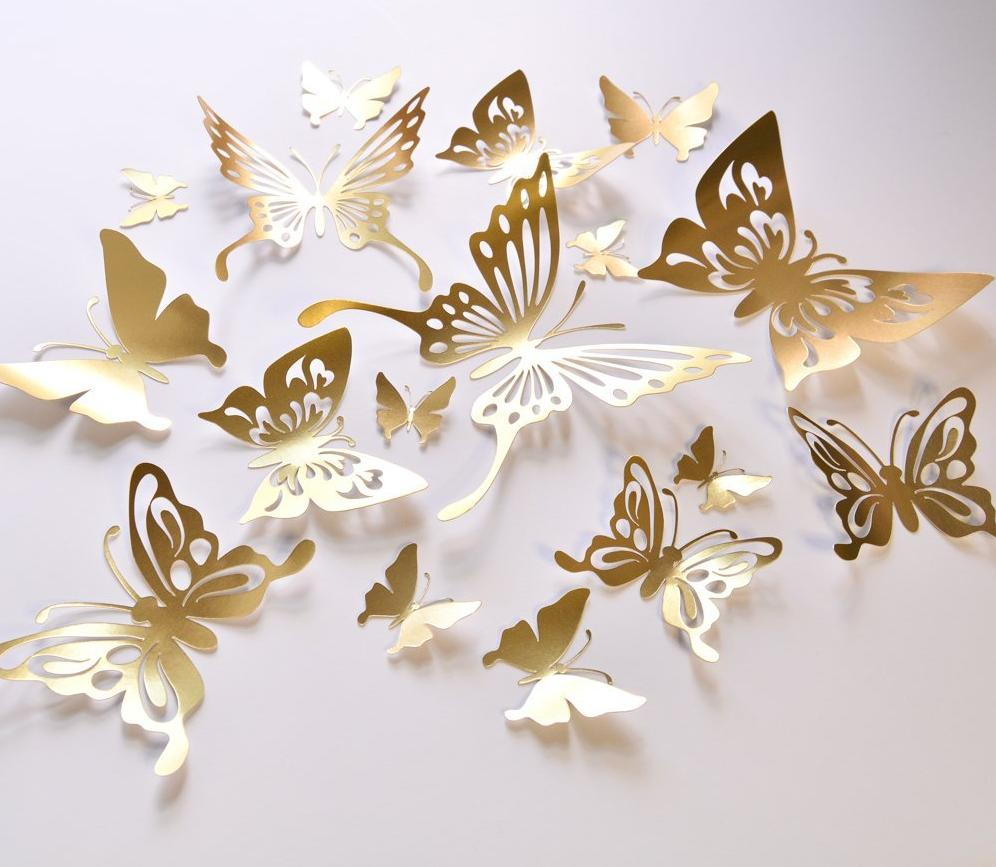 Nice Butterfly Wall Decals