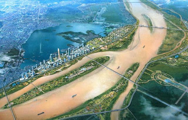 Quy hoạch Sông Hồng