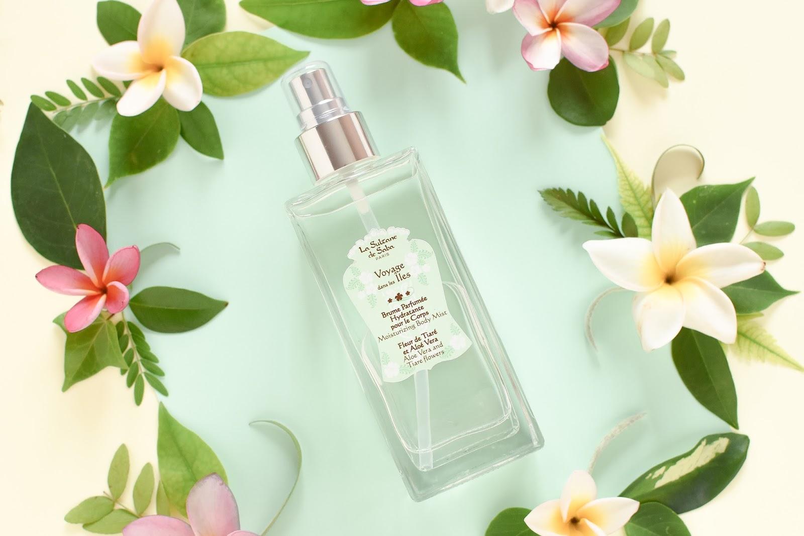 Bruma corporal perfumada For de Tiaré y Aloe Vera La Sultane de Saba