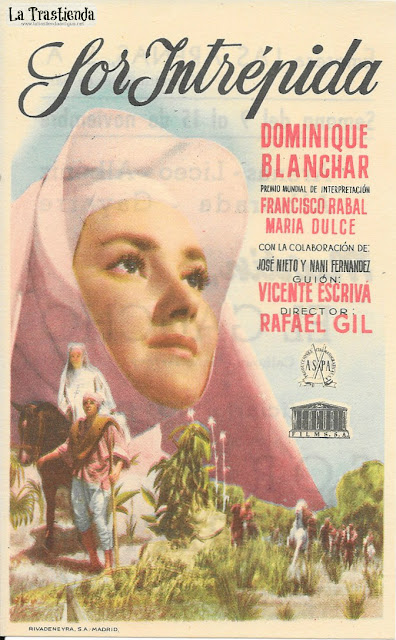 Sor Intrépida - Programa de Cine - Dominique Blanchar - Francisco Rabal