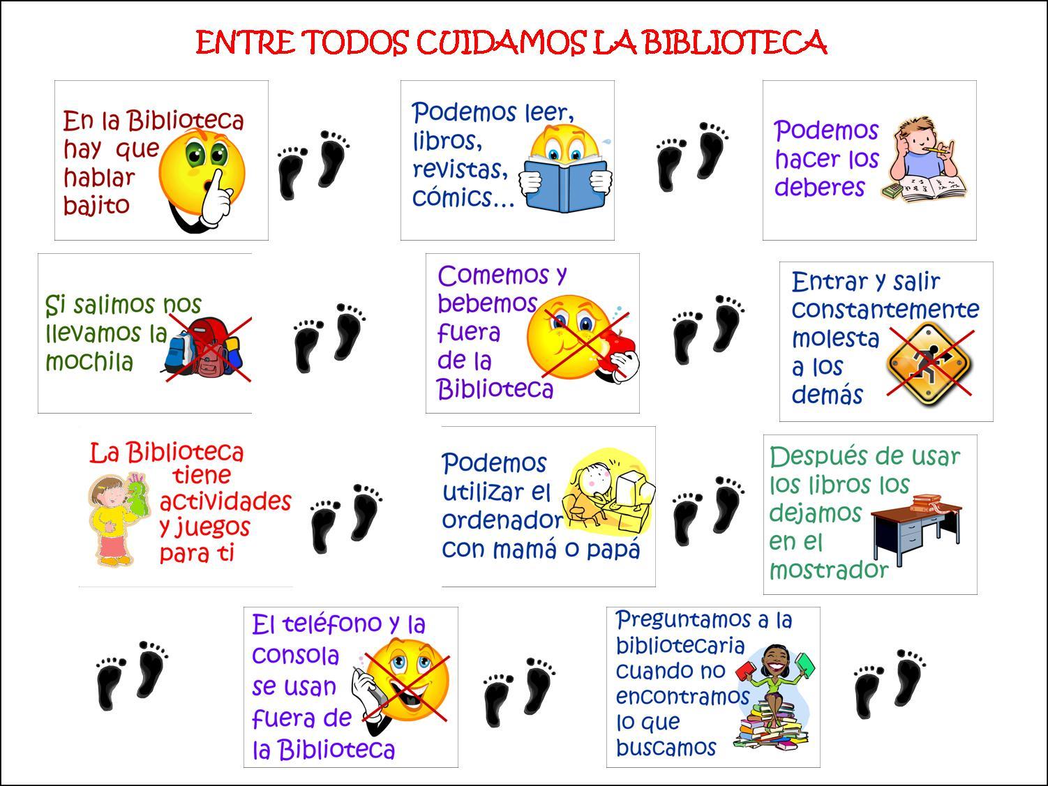 BIBLIOTECA CALASANERA: Normas De La Biblioteca