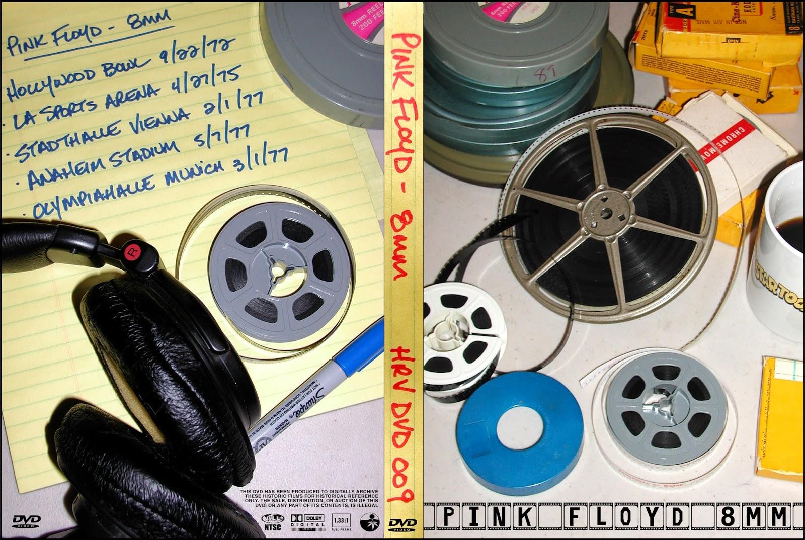 Plumdusty s page pink floyd 1975 06 12 spectrum theater philadelphia - Pink Floyd 8mm Harvested Records Hrv Dvd 009