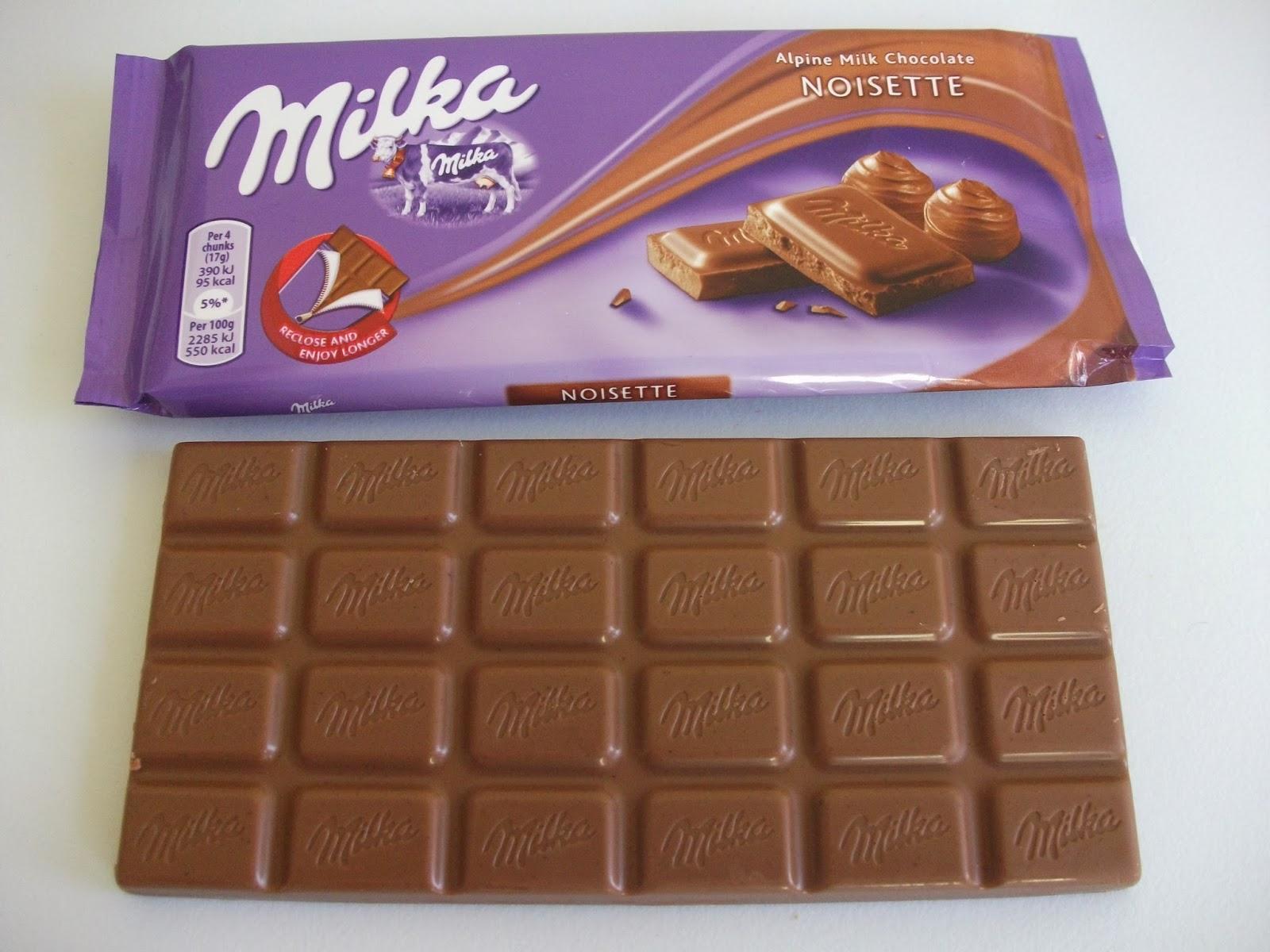 Milka Noisette Alpine Milk Chocolate Review