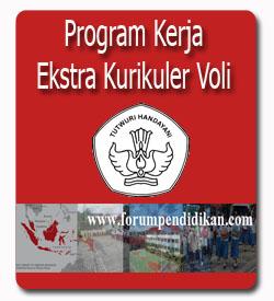 Contoh Program Kerja Ekstra Bola Voli