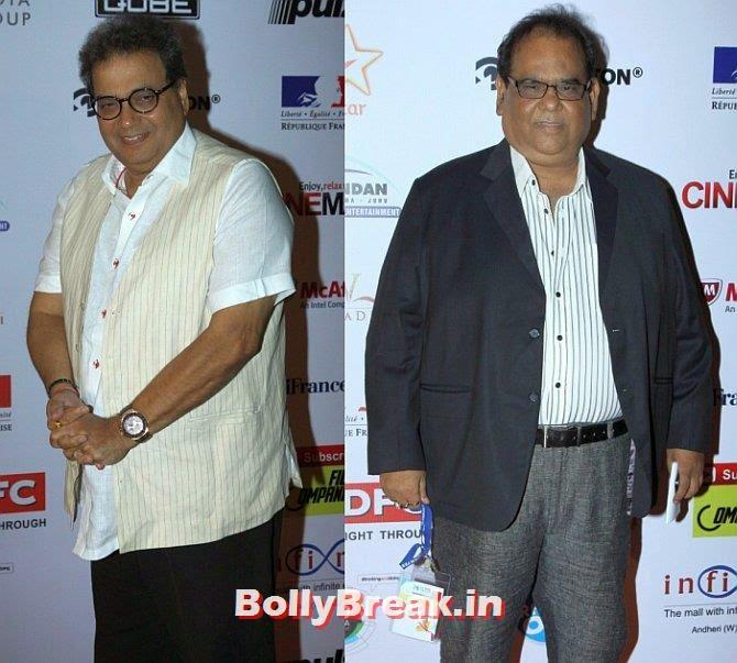 Subhash Ghai, Satish Kaushik, Mumbai Film Festival 2014 Photos