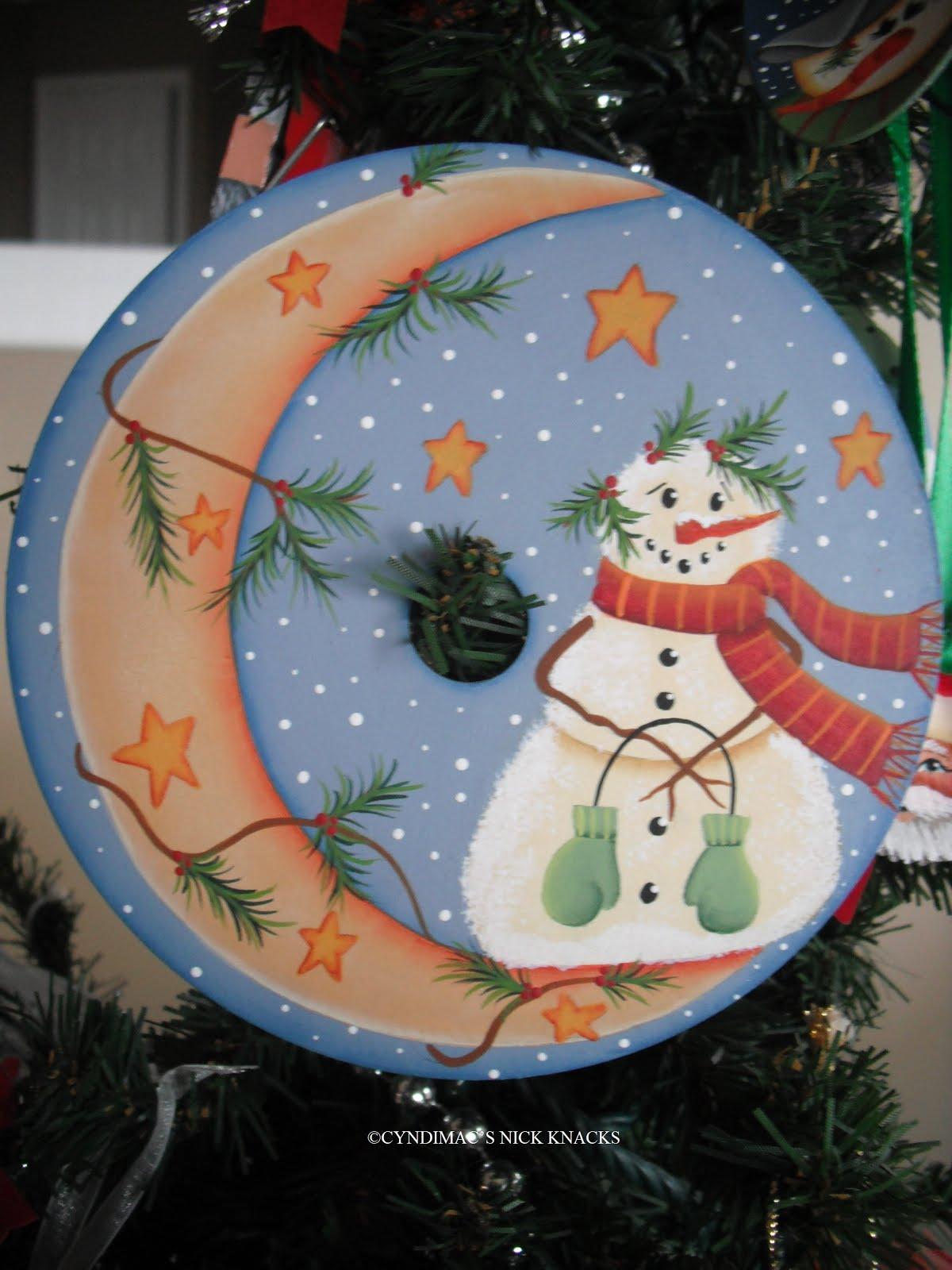 Cyndimac S Nick Knacks Cd Ornaments