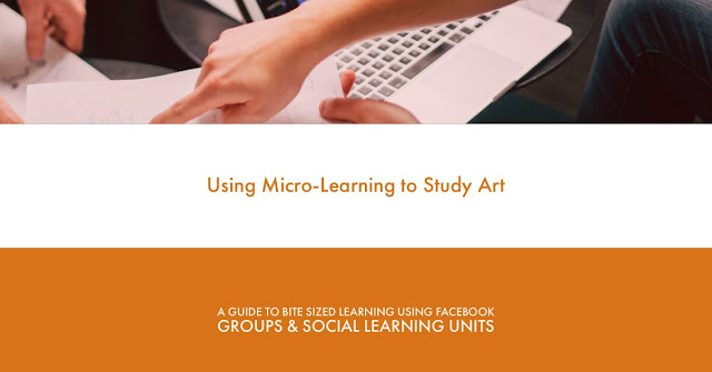 Micro Learning and Social Learning Units on Facebook