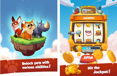 Coin Master MOD APK 3.4.1 Android Latest Version Unlimited Money