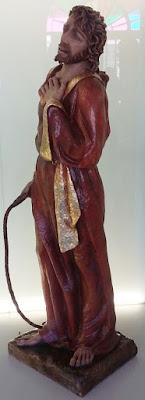 Señor del paso La Expulsión del templo. Cofradía Cristo del Gran Poder. León. Foto. Alberto García.