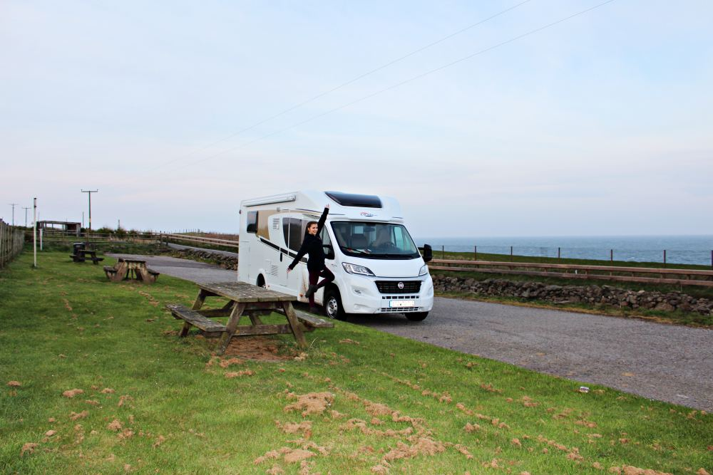 Road Trip through Scotland with a Fiat Carado T447